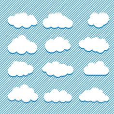 cute cloud illustration - Google Search