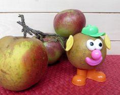 Mr Pomme! ça change de Mr Patate