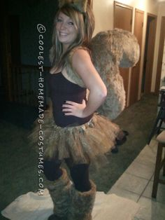 Homemade Sexy Squirrel Costume... This website is the Pinterest of costumes
