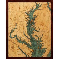 Below the Boat - Chesapeake Bay