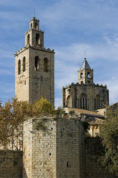 Monasterio de San Cugat. Vallès Occidental,  Catalonia