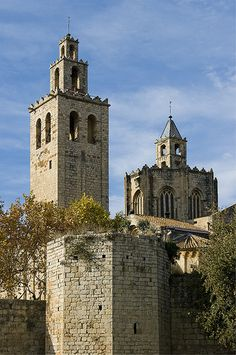 Monasterio de San Cugat del Vallès, Barcelona.