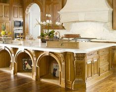 Pet resort in your kitchen - Advanced concepts in kitchens and baths - The Effective Pictures We Offer You About Pet resort hotels A quality picture can t Grand Kitchen, Large Kitchen Island, Kitchen And Bath, Kitchen Decor, Kitchen Islands, Beautiful Kitchens, Cool Kitchens, Dream Kitchens, Bed Design