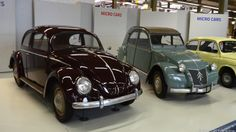 Ferdinand Porsche's Volkswagen Beetle Type 1 was a revolutionary moment in automotive history. These are just a few of the vintage treasures on display at AutoWorld, a massive car museum hidden in a large, hangar-like structure in the Parc du Cinquantenaire in Brussels, Belgium.