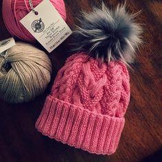 Pearl Blossom Beanie Knitting Pattern