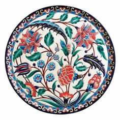 Turkish Art, Turkish Tiles, Ceramic Pottery, Pottery Art, Style Oriental, Chinese Element, Decoupage Art, Indian Patterns, Sculpture