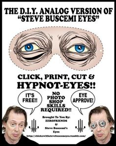 Haha! Great for Halloween! Because...Steve Buscemi!!!