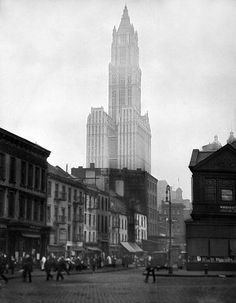 Woolworth Building, New York City 1921