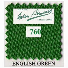 Kit tapis Simonis 760 7ft US English Green - 175,00 €  #Jeux