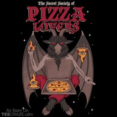 Pizza Lovers T-Shirt Designed by thiagocorream. #TeeCraze #Pizza #Funny #tshirt
