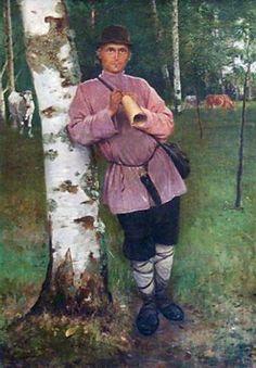 Cowboy - Nikolay Bogdanov-Belsky