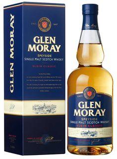 #Whisky Glen Moray - Elgin Classic,  designed by #Linea