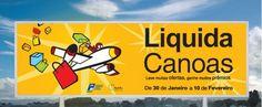 CDL - Liquida Canoas, criação de logo e indentidade visual