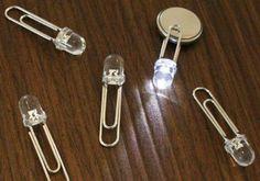 LED Buttons für eine Party selber basteln