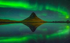 Check out The Northern Lights by Arzt Win Studio on Creative Market