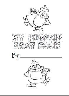 Penguin fact book for nonfiction penguin unit freebie! Follow my blog :)