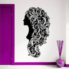 Wall Decals Vinyl Sticker Decal Hair Beauty Salon by DecalHouse