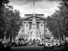 Buckingham Palace and Black Cabs - London - UK - England - United Kingdom - Europe Photographic Print by Philippe Hugonnard at AllPosters.com
