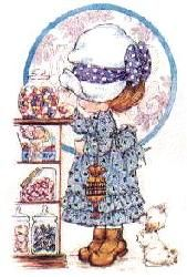 Girl in a candy shop- Ilus. Sarah Kay