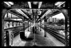 Brighton Beach Subway Station Brooklyn, New York.  I lived on Brighton 7th Street...