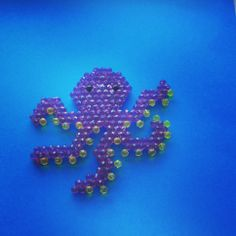 Under the sea creations with Aquabeads #octopus #crafts