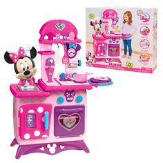 Minnie Mouse Kitchen, Minnie Mouse Toys, 7 Year Old Christmas Gifts, Family Christmas, Milkshake Maker, Pretend Play Kitchen, Princess Toys, Cute Kitchen, Gift Finder