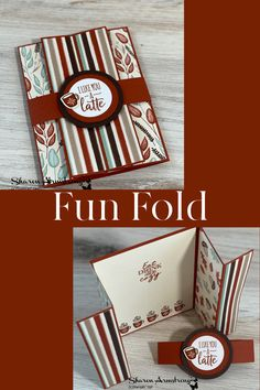 Let me show you an autumn fun fold card to make that's perfect for the season. A warm hug in a handmade card; you'll be hooked on this idea! Complete with card video tutorial at www.txstampin.com #fallfunfoldcard #funfoldcards #cardmakingideas #cardmaking #greetingcardshandmade #handmadecards #fallcards #txstampin #sharonarmstrong #stampinup #stampinupcards