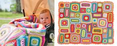 Weegoamigo Crochet Blanket - Nora - UrbanBaby to reverse engineer