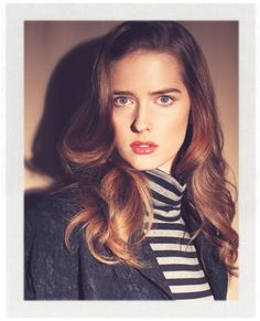 Ann Ward.  Cycle 15 winner of ANTM.  I love this shot!