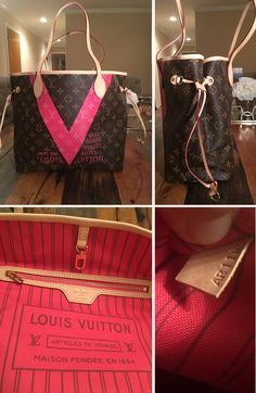 8845e5182e8b Commonly Faked Designer Goods: Louis Vuitton V Neverfull Monogram bag Here  are some of the most commonly counterfeited designer brands out there. Can  you ...
