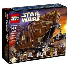 Recreate unforgettable scenes from Star Wars: Episode IV A New Hope with this amazing LEGO incarnation of the Jawas' desert-going vehicle the Sand crawler. Turn the knob at the rear and steer the San...