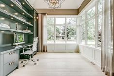 2069 Glenforest Crescent Oakville, | Oakville Homes for Sale - Goodale Miller Team Polished Concrete Kitchen, House Plans, Real Estate, Houses, House Design, Windows, How To Plan, Luxury, Ideas