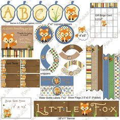 images about little fox baby shower on pinterest fox baby showers