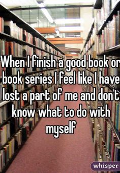 This is how I felt after finishing the hunger games and twilight