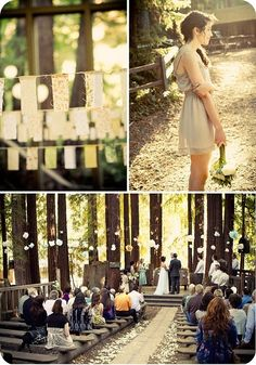 wedding in the redwoods...what more could you ask for?? #wedding, #venue