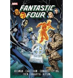 Superstar writer Jonathan Hickman revamps and redefines Marvel's first family in an epic saga across time, space and reality! It all begins when Mr. Fantastic decides to solve everything! As the team contends with Dark Reign, an older Franklin arrives from the future with an ominous warning! And as the Fantastic Four fight the War of the Four Cities, Mr. Fantastic assembles a band of genius youngs...