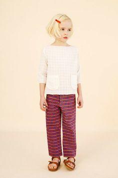 prawle top & hornsea trousers - caramel baby & child