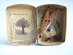 Bücher, Papier-Kunst, Mixed Media Art, DIY | Papierkünstlerin Colette Bain