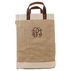 CB Station Jute Market Bag Natural, Women's - 6183-INT-1366
