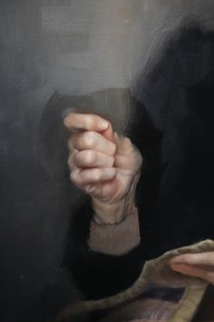 """"""" Old woman """" by Kate Stone  (detail)"""
