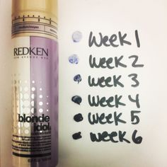 Cool Blonde Tip: Use the New Blonde Idol Custom-tone daily treatment to neutralize brassiness. The dual chambers release a blend of color-depositing and conditioning formulas throughout 6 weeks for a brilliant blonde color between appointments!