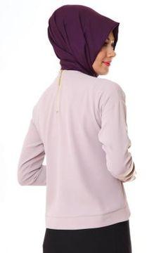 Al-Marwah Claire Bluz 60002 Vizon - ÂLÂ Tesettür | Tesettür Giyim Modasına Yön Veren Tasarımlar!