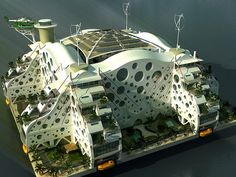Oasis of the Seas, Resort, by Emerson Stepp. Seasteading Institute - Design Contest, Best Picture Winner. 252 by ejacobhansen, via Flickr