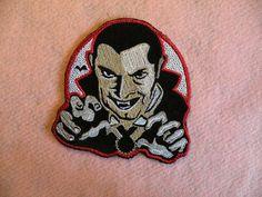 Retro Dracula Iron on Patch by GerriTullis on Etsy, $13.00