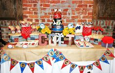 Little Buckeroo Baby Shower Decorations