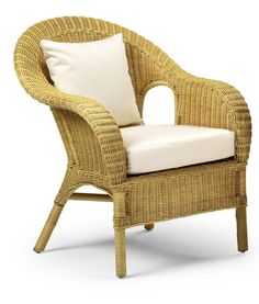 Jasper Occasional Wicker Chair Natural - Home Life Direct: Amazon.co.uk: Kitchen & Home