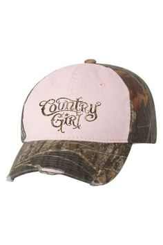 Women s Country Girl® Camo Hat 209223050f61