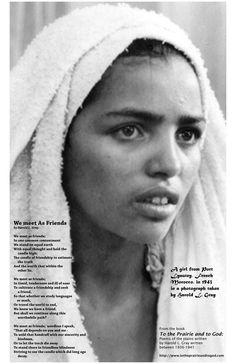 a Moraccan girl -1943 taken by Harold Gray