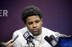 michael crabtree 49ers football player ;)