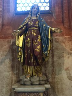 Blessed Virgin Mary. San Andreas, Vercelli, Italy